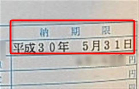 自動車税・軽自動車税・納期限
