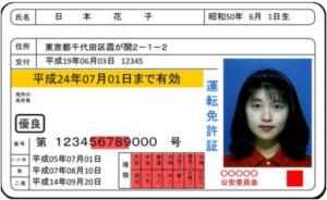 運転免許証2