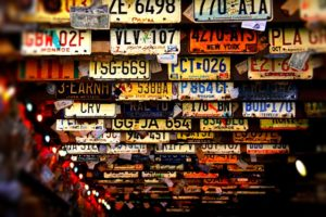 ナンバープレート・記念所蔵・持ち帰り・記念にもらう・返却しない・ナンバー