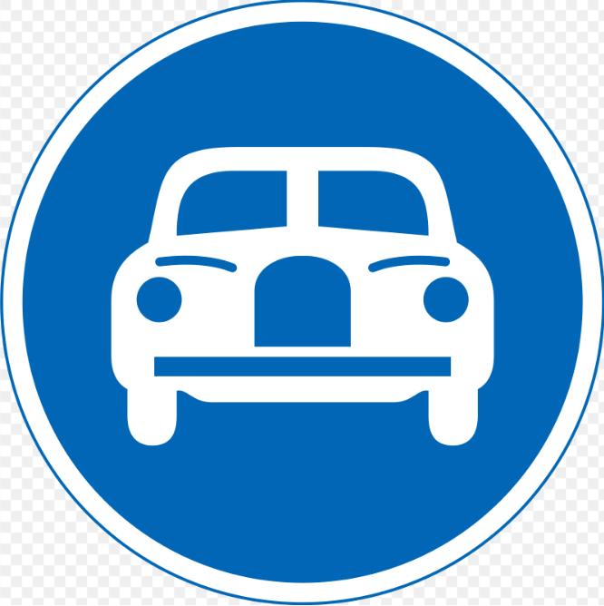 自動車専用道路の標識2