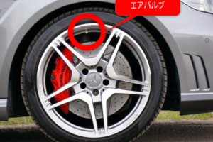 エアバルブ・車・タイヤ・ホイール・種類