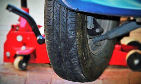 タイヤ・空気圧・温間・冷間