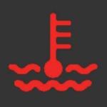 冷却水警告灯・トラック