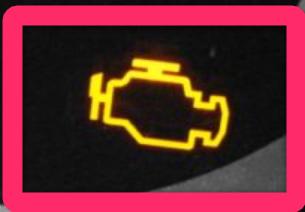 エンジン警告灯
