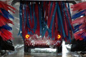 洗車機・雨の日
