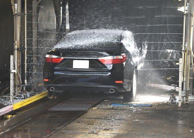 ガラスコーティング・洗車機