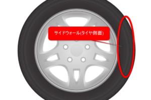 タイヤ・サイドウォール・縁石