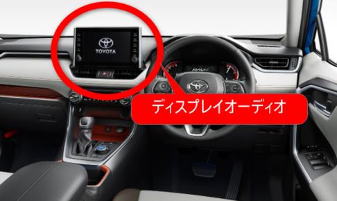 トヨタ・ディスプレイオーディオ・廃止